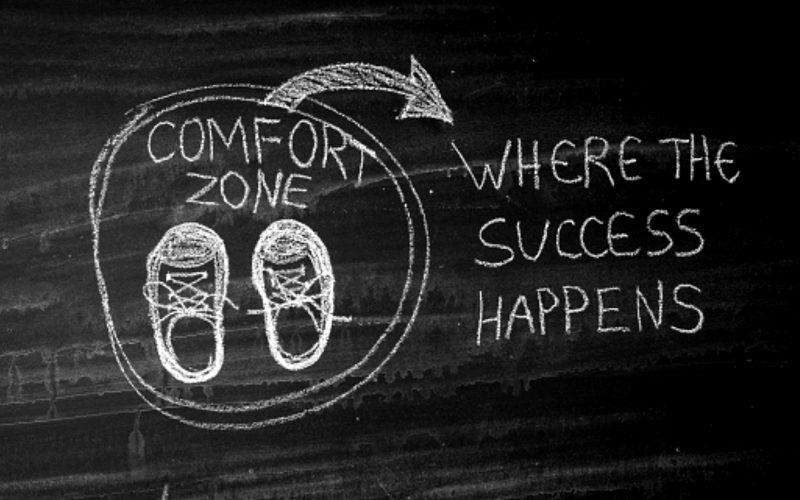 Come uscire dalla comfort zone